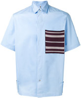 Oamc patch pocket shirt - men - Cotton - S