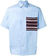 Oamc patch pocket shirt