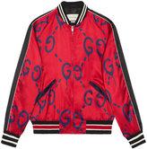 Gucci GucciGhost bomber - men - Silk/Viscose - 46