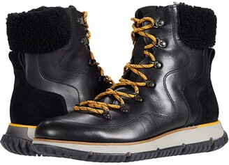 Cole Haan 4.Zerogrand Leather Hiker (Black Smooth) Women's Shoes