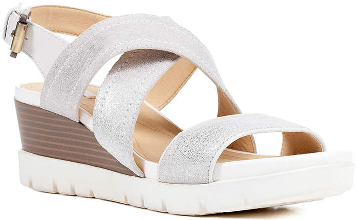229eb220dc7 White Suede Wedge - ShopStyle