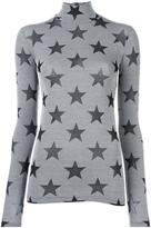 Gareth Pugh star roll neck top - women - Viscose/Spandex/Elastane/Polyamide - 42