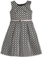 Bonnie Jean Metallic Brocade Party Dress, Big Girls (7-16)