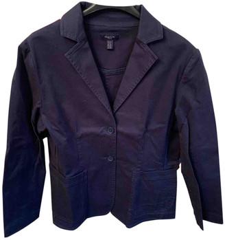Gant Blue Cotton Jackets