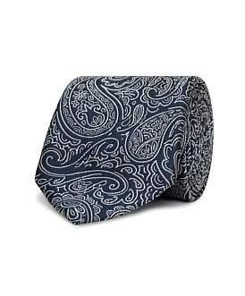 Van Heusen Navy Paisley Tie