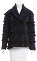 Tibi Wool-Blend Tweed Coat w/ Tags