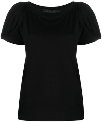 FEDERICA TOSI puff-sleeves cotton T-Shirt