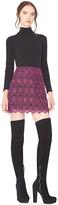 Alice + Olivia Riley A-Line Mini Skirt