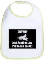 CafePress - Gravity! - Cute Cloth Baby Bib, Toddler Bib