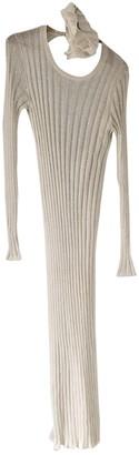 Brunello Cucinelli White Linen Dresses