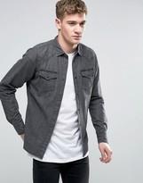 Diesel New-sonora-e Denim Shirt Slim Fit