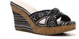 Restricted Daisy Wedge Sandal
