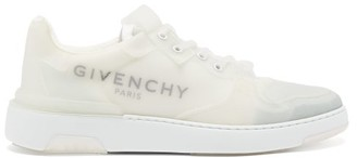 Givenchy The Wing Clear-rubber Trainers - Mens - White