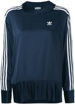 adidas pleated details sweatshirt - women - Polyester - 44