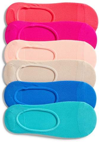 Sof Sole 6-Pack No-Show Liner Socks