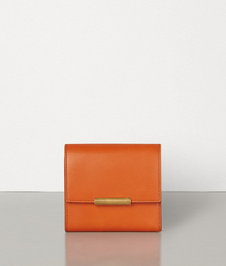 Bottega Veneta Mini Continental Wallet In French Calf