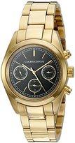 Cabochon Women's 'De Ce Monde' Swiss Quartz Stainless Steel Casual Watch, Color:Gold-Toned (Model: 1110)