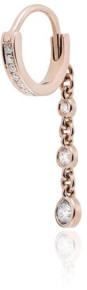 Jacquie Aiche 14K rose gold diamond drop earring