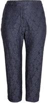 H&M H&M+ Lace Pants - Dark blue - Ladies