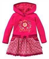 Oilily Pink Hooded Tamtam Dress - Infant Toddler & Girls
