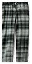 Classic Men's Big Fit Broadcloth Pajama Pants Navy Check
