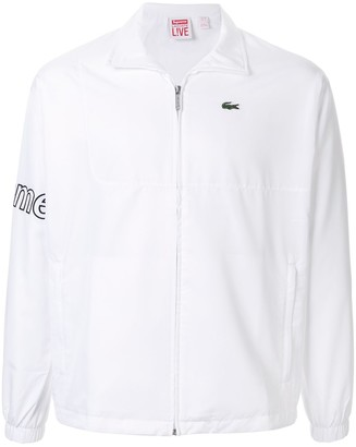 Supreme x Lacoste track style jacket