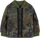 Burberry Camouflage bomber jacket