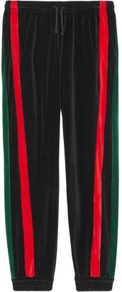 Gucci Striped Track Trousers