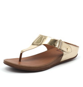 FitFlop Gladdie Toe Post Pale Gold