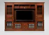 Ethan Allen Robinson Glass-Door Media Center