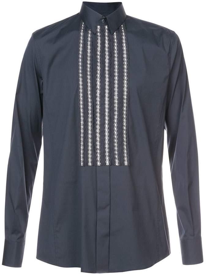 Dolce & Gabbana tuxedo shirt