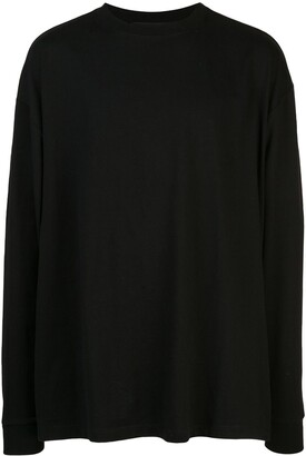 Unravel Project back print long-sleeve T-shirt