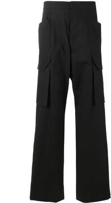 Rick Owens tailored cargo pants