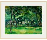 Cezanne The Courtauld Gallery, Paul Farm in Normandy, Summer (Hattenville) Print