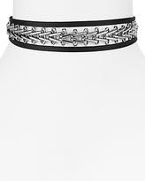 Aqua Jacie Chain Wrap Choker Necklace, 11 - 100% Exclusive