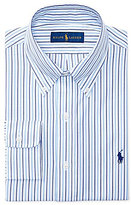 Polo Ralph Lauren Fitted Classic-Fit Button-Down Collar Striped Dress Shirt