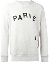 MAISON KITSUNÉ parisien sweatshirt - men - Cotton/Polyester/Viscose - S