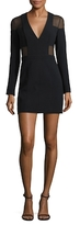 Balmain Fitted Solid Dress