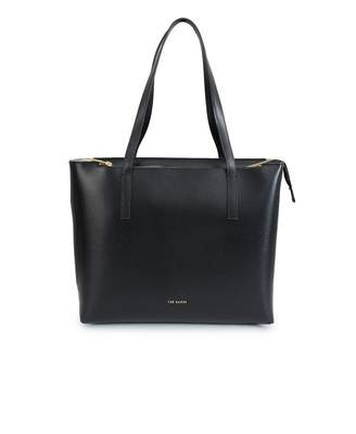 Ted Baker Core Leather Shopper Colour: BLACK, Size: One Size