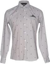 Grey Daniele Alessandrini Shirts - Item 38652272