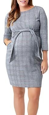 Nom Maternity Frances Plaid Sheath Dress