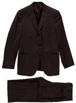 Kiton Striped Cashmere Suit