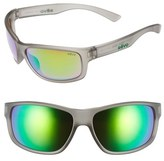 Revo Men's 'Baseliner' 61Mm Polarized Sunglasses - Crystal Grey/ Green Water
