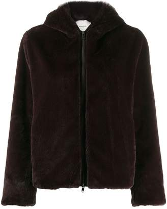 Vince Soft hooded jacket