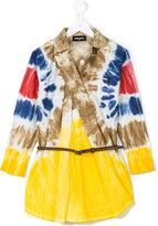 DSQUARED2 tie-dye tunic dress - kids - Cotton - 8 yrs