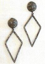 Designs By Alina 'newlyweds' Pave Diamond Earrings