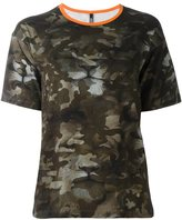 Versus camouflage boxy T-shirt
