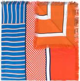 Pierre Louis Mascia Pierre-Louis Mascia Aloe printed scarf