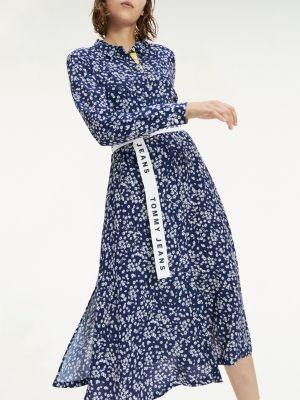 Tommy Hilfiger Ditsy Floral Print Shirt Dress