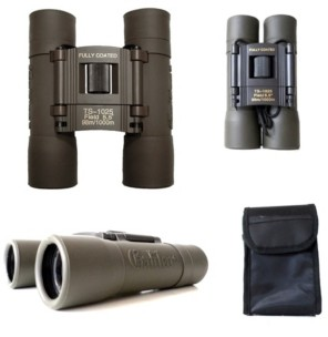 Galileo 10 Power Compact Binocular with 25mm Lenses and Carry Case